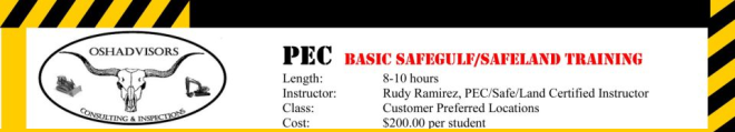 Safety Course Ad