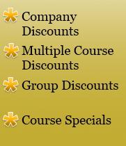 Safety Course Discounts Image